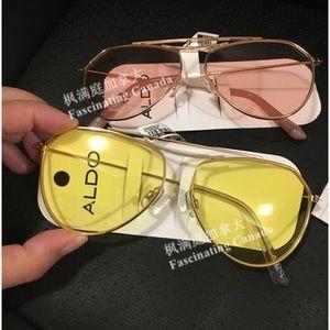 7b565ba1e47 Aldo Accessories - Aldo Yellow Sunglasses